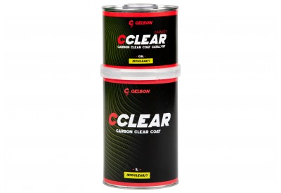 CCLEAR Carbon Clear Coat 1L and Hardener