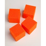 Orange Applicator Sponges