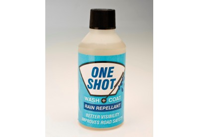 One Shot Screen Wash with Rain Repellent