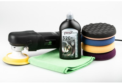 SP Soft Start Lightweight Rotary Polisher S20 Black Kit